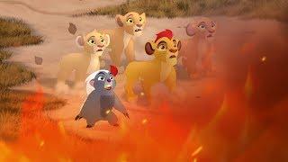 Lion Guard: Scar's Scheme & The Blaze | The Underground Adventure HD Clip