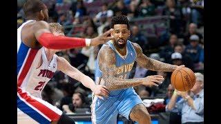 Denver Nuggets Vs Detroit Pistons - Full Game Highlights | Dec 12, 2017 | Ximo Pierto