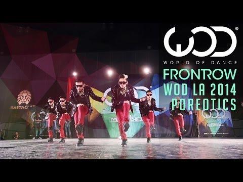Poreotics biểu diễn tại World of Dance #WODLA '14
