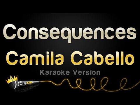 Download Camila Cabello - Consequences (Karaoke Version) HD Mp4 3GP Video and MP3