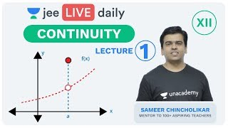 JEE Mains: Continuity L 1 | Class 12 | Unacademy JEE | LIVE DAILY | IIT Mathematics | Sameer Sir - Download this Video in MP3, M4A, WEBM, MP4, 3GP