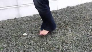 Again Barefoot On Broken Glass