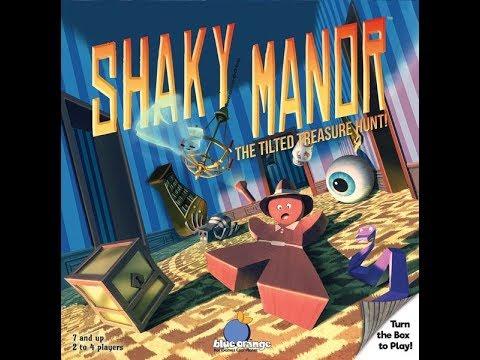 The Purge: # 2014 Shaky Manor: Shake that building, shake shake shake and move those parts around
