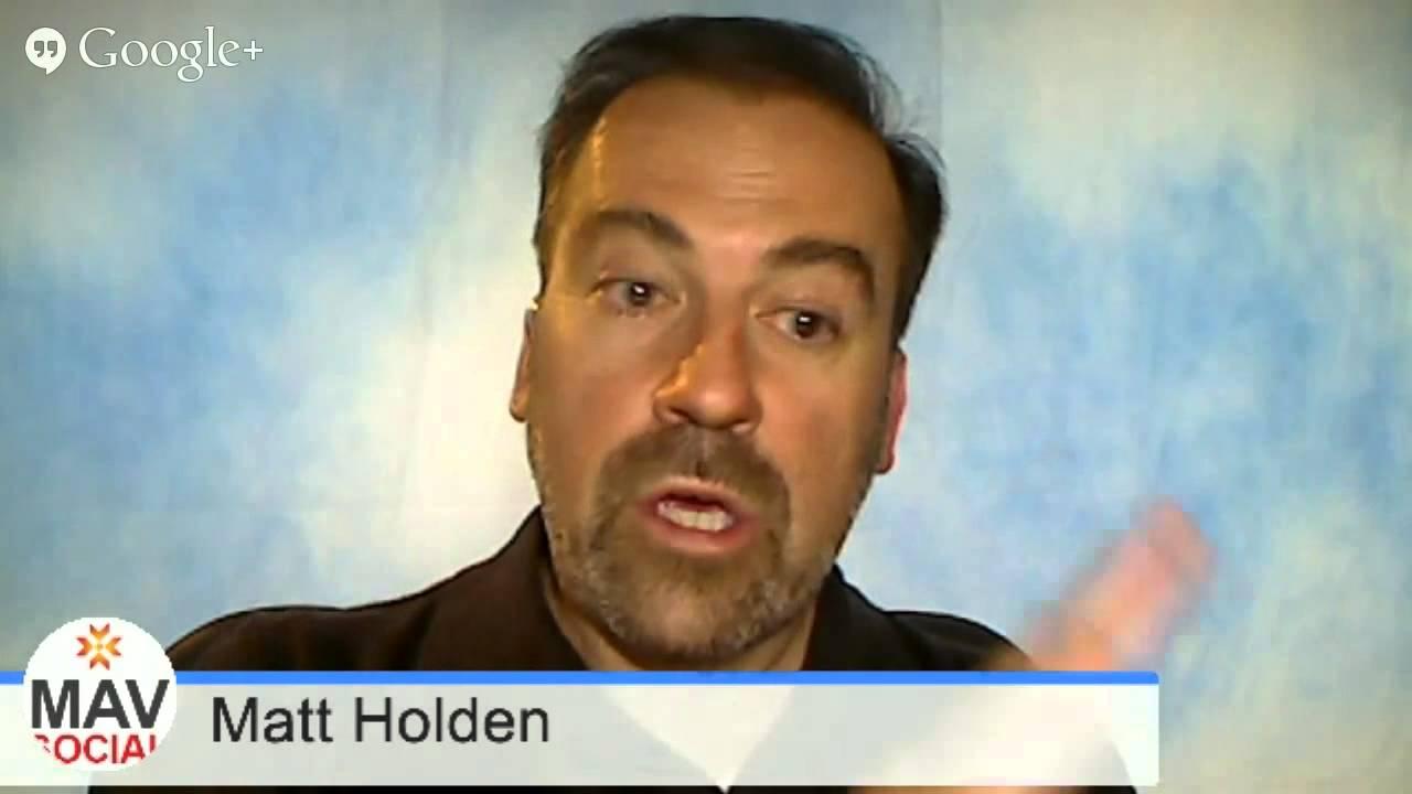 MavSocial: Founder Matthew Holden * WTTV 1.5