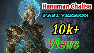jai hanuman gyan gun sagar fast version - TH-Clip