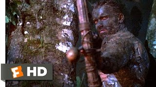 Predator (1987) - Predator vs. Dutch Scene (3/5) | Movieclips