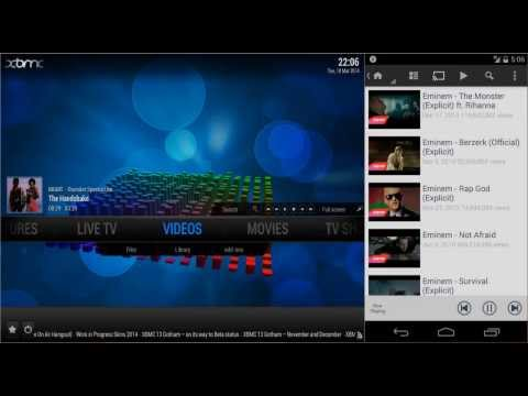 Video of Music Pump XBMC / Kodi Remote