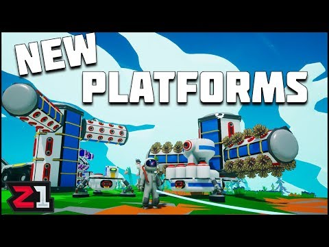 New Platforms And MORE Storage ! Astroneer Lunar Update | Z1 Gaming