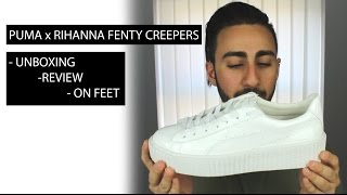 PUMA x RIHANNA Fenty Creepers | Unboxing | Review | On Feet