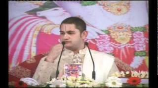 H.H SRI PUNDRIK GOSWAMI JI MAHARAJ Rurki Katha Day 4 Part-7.mpg