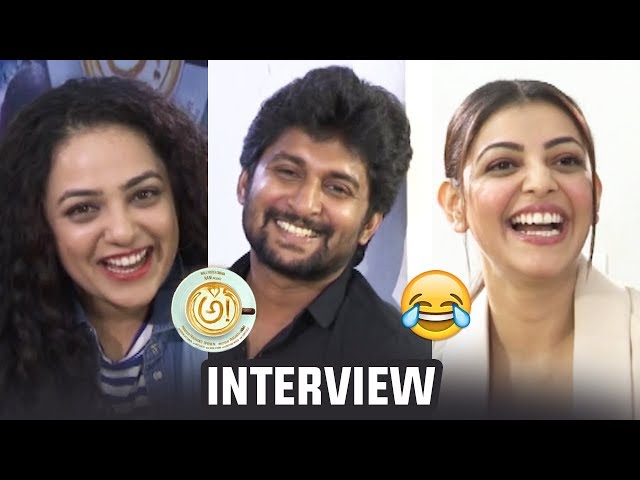 AWE Movie Team Super Funny Interview | Nani | Regina | Nithya Menen | Kajal | Eesha