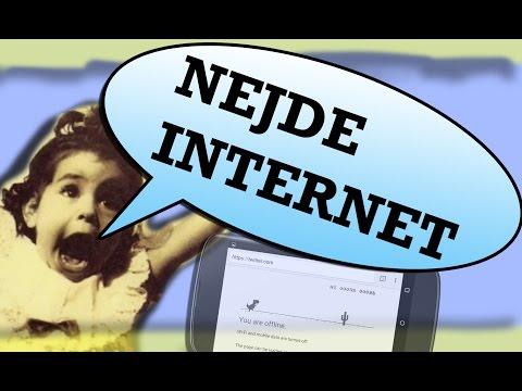 CO DĚLAT KDYŽ NEJDE INTERNET?
