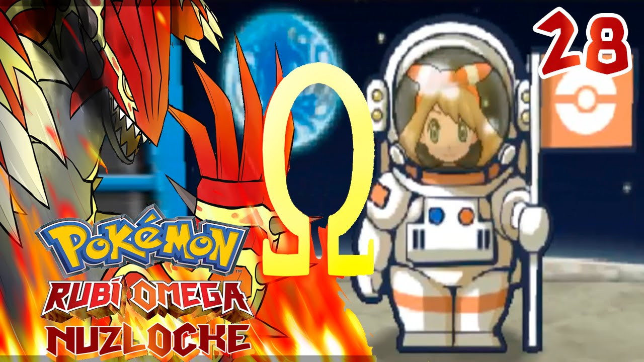 Ver Pokémon Rubí Omega Nuzlocke #28 ¡LA BASE ESPACIAL! en Español Online