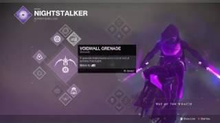 Destiny 2 How to unlock 3rd Subclass (Void Hunter)