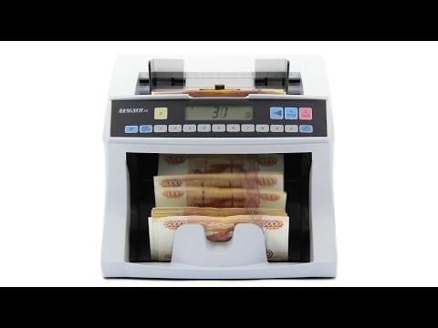 Видеообзор счетчика банкнот Magner 35-2003