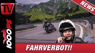 Motorrad Fahrverbote in Tirol -  Darf Dein Bike noch fahren?