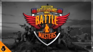 PUBGM BATTLE MASTERS - THE ULTIMATE WAR OF STREAMERS   FINAL PLAYOFF   SPONSORED BY STR乛LEO