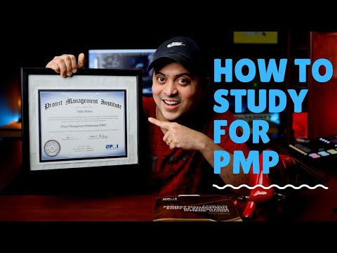 How to STUDY for PMP or CAPM Exam and pass in First Try ...