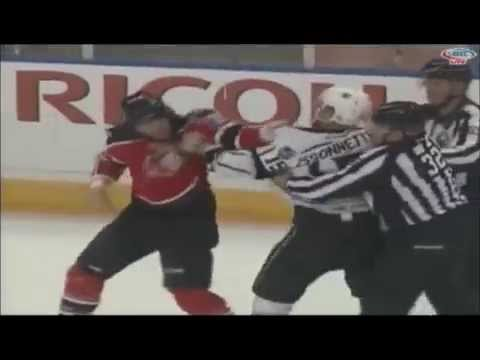 Paul Bissonnette vs. Eric Selleck