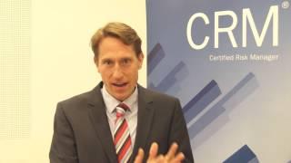 Prof. Dr. Christian Koziol über die Qualifizierung zum CRM - Certified Risk Manager