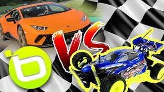 Coches de Control Remoto VS Super Autos Potentes