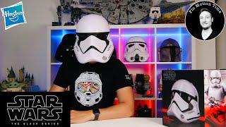 Star Wars First Order Stormtrooper Helm - Hasbro The Black Series - Unboxing & Review Deutsch