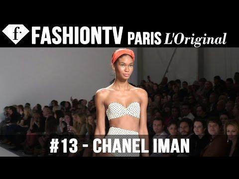 Chanel Iman - Fashionably Sexy Models in White Bikinis - FashionTV White Nights 2011 | FTV.com