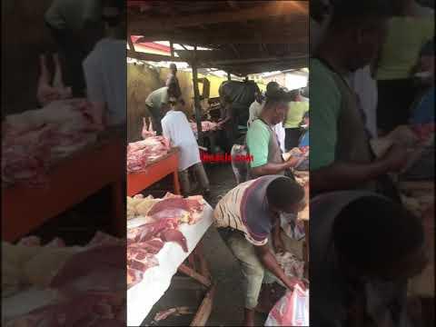Sunday Market, Ogba, Lagos, Nigeria