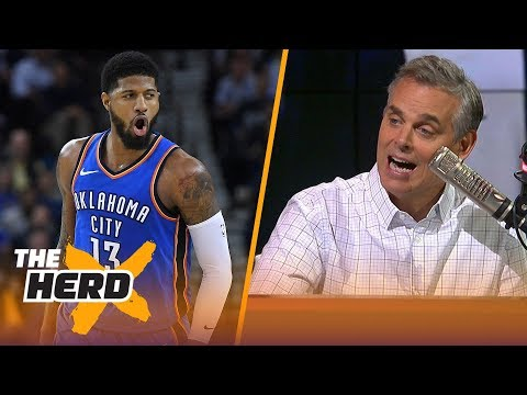 Colin Cowherd on why Paul George is the key for Lakers landing LeBron and  Kawhi  a284d2470