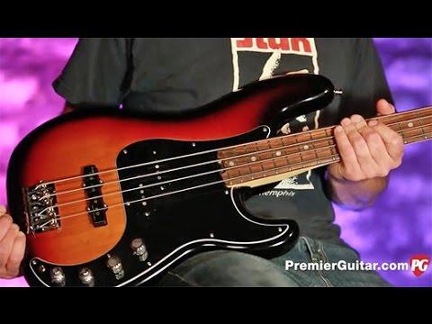Review Demo – Fender American Elite Precision Bass