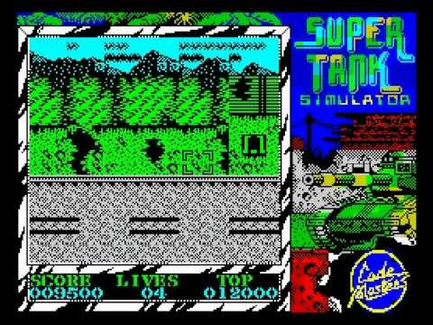 Super Tank Walkthrough, ZX Spectrum