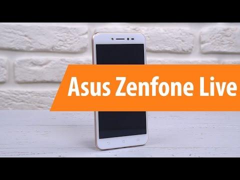 Распаковка Asus ZenFone Live ZB501KL GO / Unboxing Asus ZenFone Live ZB501KL GO