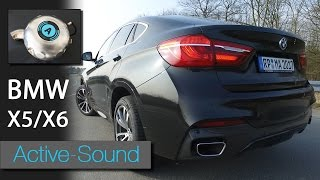 Active Sound am BMW X6 xDrive 30d Diesel