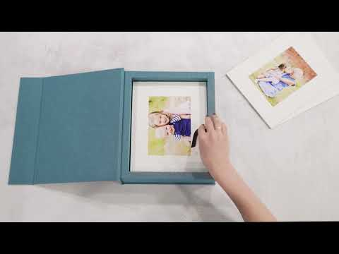 Matted Print box - Showcase your photography portfolio in style!