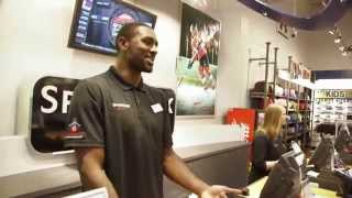Patterson Goes Undercover At Sport Chek