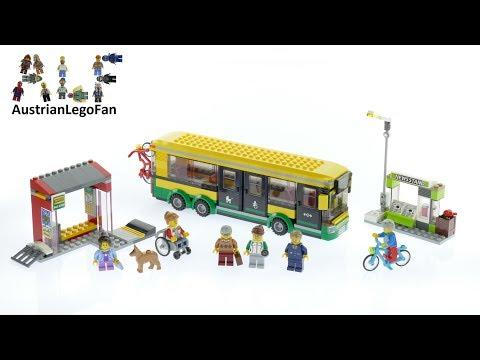 Vidéo LEGO City 60154 : La gare routière