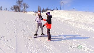 Просто ли научиться кататься на сноуборде?