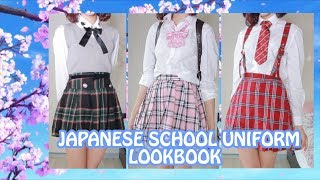 Kawaii School Uniform Lookbook