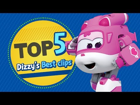 Dizzy's Best Clips | Top 5 | Superwings Hot Clips Highlight