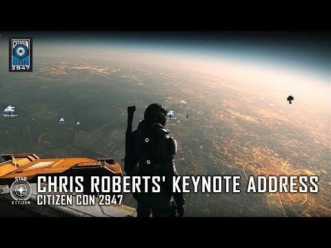CitizenCon 2017 Keynote Address Reveals Planet-Sized Cities & More