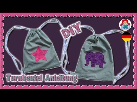 DIY   Turnbeutel nähen • Schritt für Schritt Anleitung • Sami Dolls Tutorials