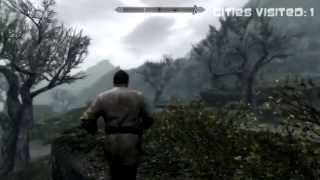 Skyrim Zombie Apocolypse | Day 1 | The beginning and end of Ymir the Tank (Season 1)