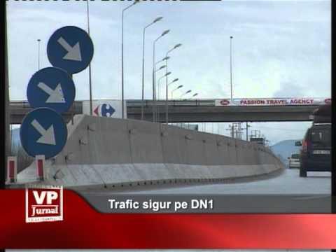 Trafic sigur pe DN1