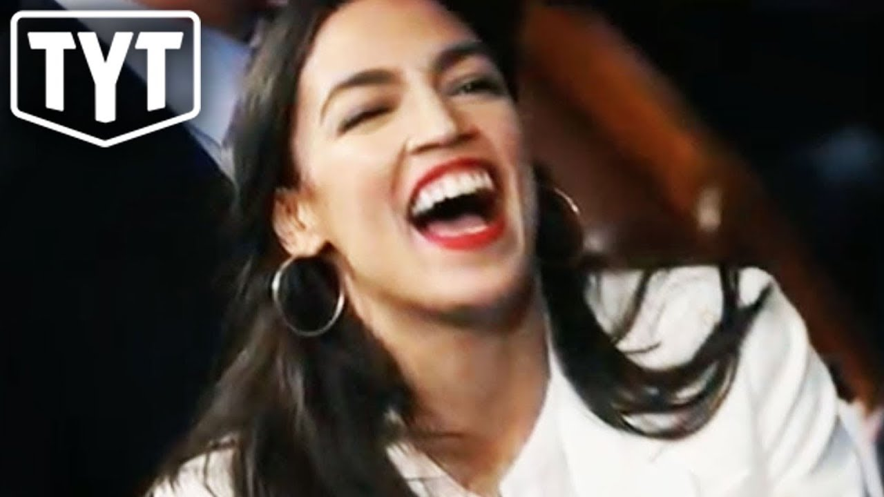 Alexandria Ocasio-Cortez One-Ups Conservative Scrub thumbnail