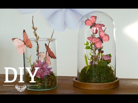 DIY: Süße Frühlings-Deko mit Schmetterlingen | Deko Kitchen