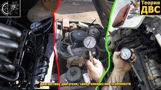 Диагностика двигателя, замер компрессии, особенности