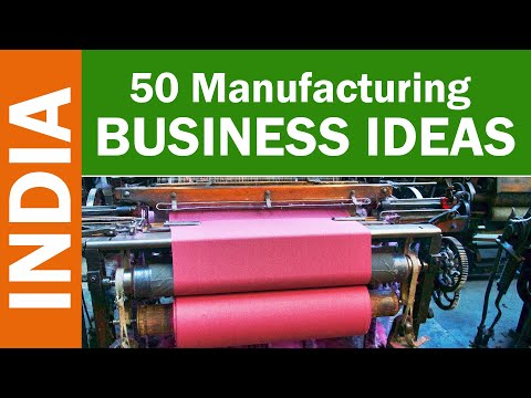 , title : '50 Manufacturing Business Ideas in India