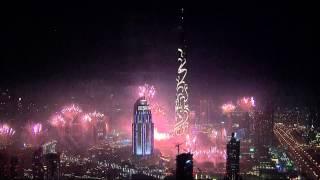 Nieuwjaarskaarten, Dubai Nieuwjaar vuurwerk spectaculair