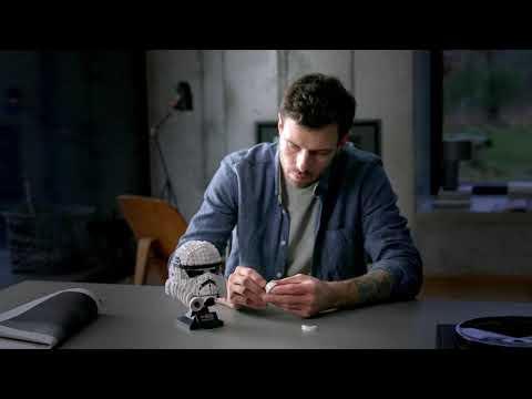 Vidéo LEGO Star Wars 75276 : Le casque de Stormtrooper
