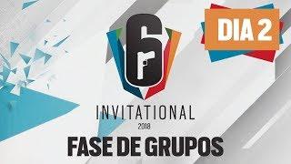[DIA 2] Six Invitational 2018 | Fase de Grupos | AO VIVO - Rainbow Six Siege